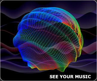 SoundSpectrum - artistic music visuals for your media player