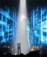 SoundSpectrum on tour with George Michael